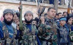 Сирийские боевики. Фото с сайта 3alm.net