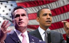 Митт Ромни и Барак Обама. Фото с сайта mittromneycentral.com