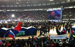 Митинг в поддержку Путина. Фото Ильи Варламова из «Твиттера» (@varlamov)