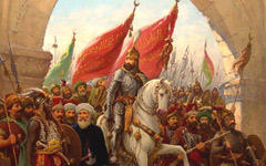 Мехмед II вступает в Константинополь, www.insecula.com