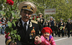 Ветераны в Севастополе. Фото © РИА Новости, Александр Мазуркевич