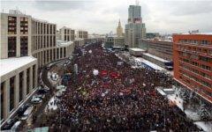Митинг на проспекте Сахарова. Фото со страницы Zyalt в LiveJournal