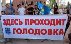 Участники астраханской голодовки. Фото: forum.astrakhan.ru