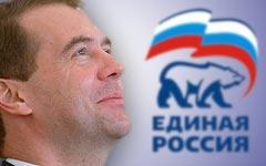 На Медведеве потек идеологический грим