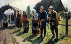 «Нищие» С.А. Виноградова, фото с сайта www.artsait.ru