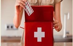 Аптечка отпускника. Фото с сайта portal-woman.ru