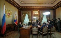 Заседание. Фото с сайта президент.рф