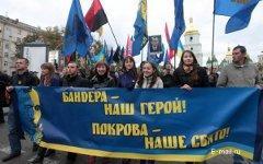 Украинские демонстранты. Фото с сайта otechestvo.org.ua
