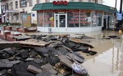 Наводнение в Краснодарском крае © РИА Новости