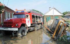 Ликвидация последствий наводнения в Крымске © РИА Новости, Илья Питалев
