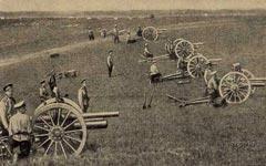 Русская артиллерия Первой мировой войны. Фото с сайта historie.ru