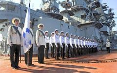 Матросы российского флота в порту Тартус © РИА Новости, Григорий Сысоев