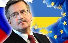 Европа и Россия ставят Украину перед необходимостью выбора