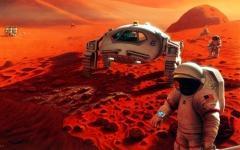 Художественное представление миссии на Марс. Фото с сайта nasa.gov