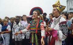 XII Всемирный фестиваль молодежи в Москве©РИА Новости, Юрий Абрамочкин