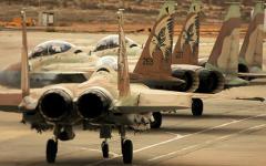 Израильские истребители. Фото с сайта iaf.org.il