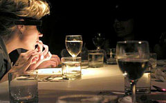 Ресторан «В темноте». Фото компании Resto
