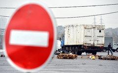 Территория закрывшейся овощебазы в районе Бирюлево © РИА Новости, Рамиль Ситдико