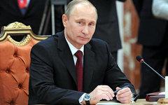Владимир Путин на заседании Совета глав государств СНГ. Фото с сайта kremlin.ru