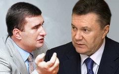 Игорь Марков и Виктор Янукович. Коллаж © KM.RU