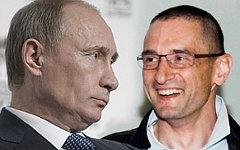Владимир Путин и Сергей Медведев. Коллаж © KM.RU