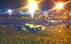 Место катастрофы. Фото с сайта sledcom.ru