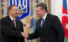 Ильхам Алиев и Виктор Янукович. Фото с сайта president.gov.ua