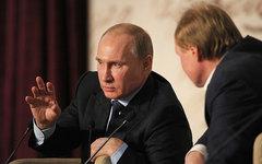 Владимир Путин на Российском литературном собрании. Фото с сайта kremlin.ru