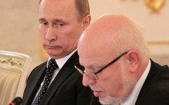 Владимир Путин и Михаил Федотов. Фото с сайта kremlin.ru