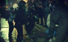 Милиция на Евромайдане. Фото пользователя Twitter @vitaliymoroz