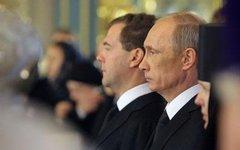 Дмитрий Медведев и Владимир Путин. Фото с сайта government.ru