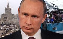 Владимир Путин. Коллаж KM.RU