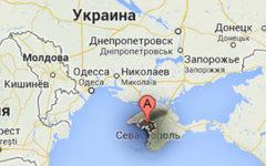 Место будущего порта. Изображение сервиса Google Maps