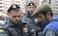 Сотрудники ФМС © РИА Новости, Илья Питалев