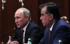 Владимир Путин и Эмомали Рахмон © РИА Новости, Михаил Климентьев