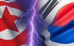 Флаги Северной (слева) и Южной (справа) Кореи. Изображение с сайта asiareport.ru