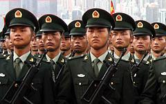 Китайские военные. Фото с сайта chinamil.com.cn
