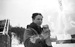 Юрий Юдин во время похода 1959 года. Фото с сайта livejournal.com
