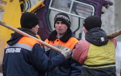 Дорожные рабочие © KM.RU, Алексей Белкин