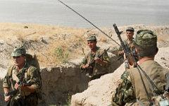 На таджикско-афганской границе ©РИА Новости, Семиряга