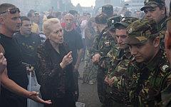 Акция протеста в Удомле © РИА Новости, Константин Чалабов