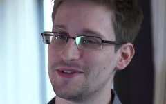 Эдвард Сноуден. Стоп-кадр с видео в YouTube