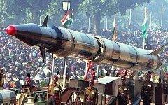 Ракета «Агни». Фото Nikkul с сайта wikipedia.org