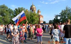 Народный сход в Пугачеве © РИА Новости, пресс-служба администрации города