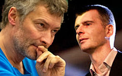 Евгений Ройзман и Михаил Прохоров. Коллаж © KM.RU