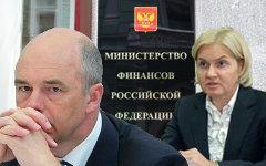 Антон Силуанов и Ольга Голодец. Коллаж © KM.RU