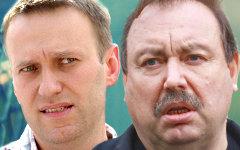 Алексей Навальный и Геннадий Гудков. Коллаж © KM.RU