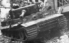 Подбитый «Тигр». Фото с сайта milday.ru