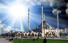 Мечеть имени Ахмата Кадырова «Сердце Чечни». Фото с сайта info-islam.ru
