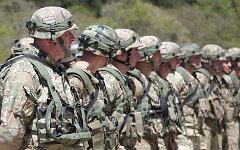 Грузинские военные. Фото с сайта mod.gov.ge